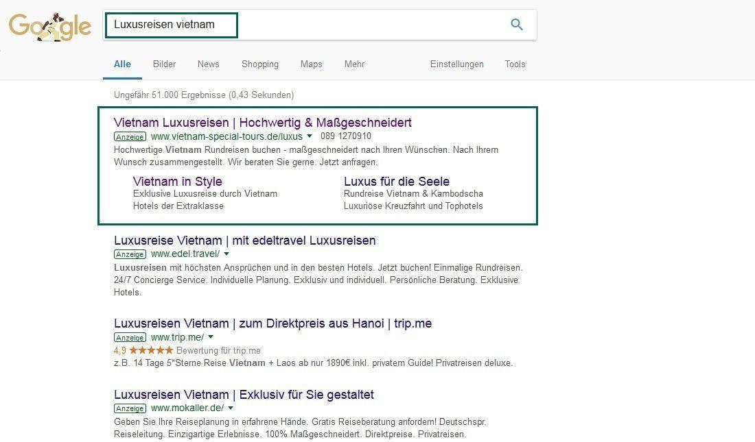 SEA - Google AdWords